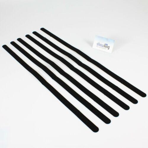 schwarz 600mm x 20 mm // anti-rutsch 6 Stk Antirutsch-Strips selbstklebend