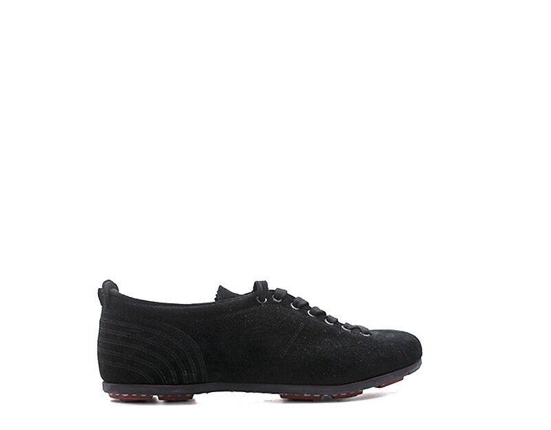 zapatos PANTOFOLA D'oro hombres zapatillas trendy  negro Scamosciato SL18U-NE