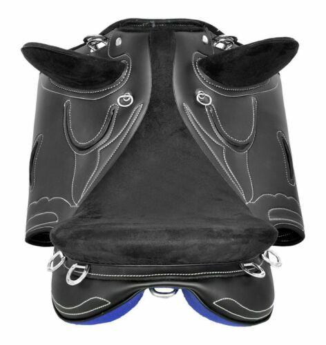 Australian Stock Synthetic Saddle With Plain Halter