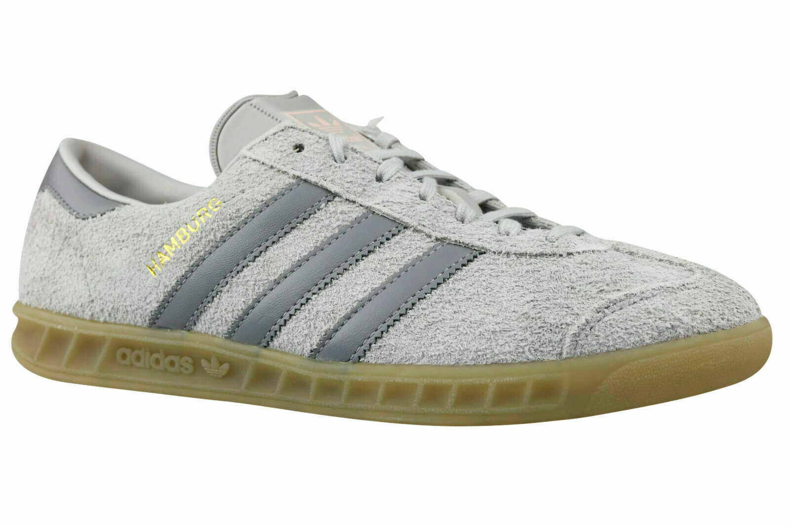 Adidas Originals Hamburg W Damen Turnschuhe Schuhe BY9676 grau Gr. 36 - 42,5 NEU
