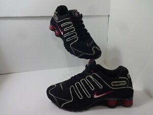 Nike Shox NZ Womens Size 10 US Black