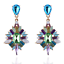 Elegant-Fashion-Women-Rhinestone-Resin-Flower-Ear-Stud-Dangle-Earrings-Jewelry thumbnail 4