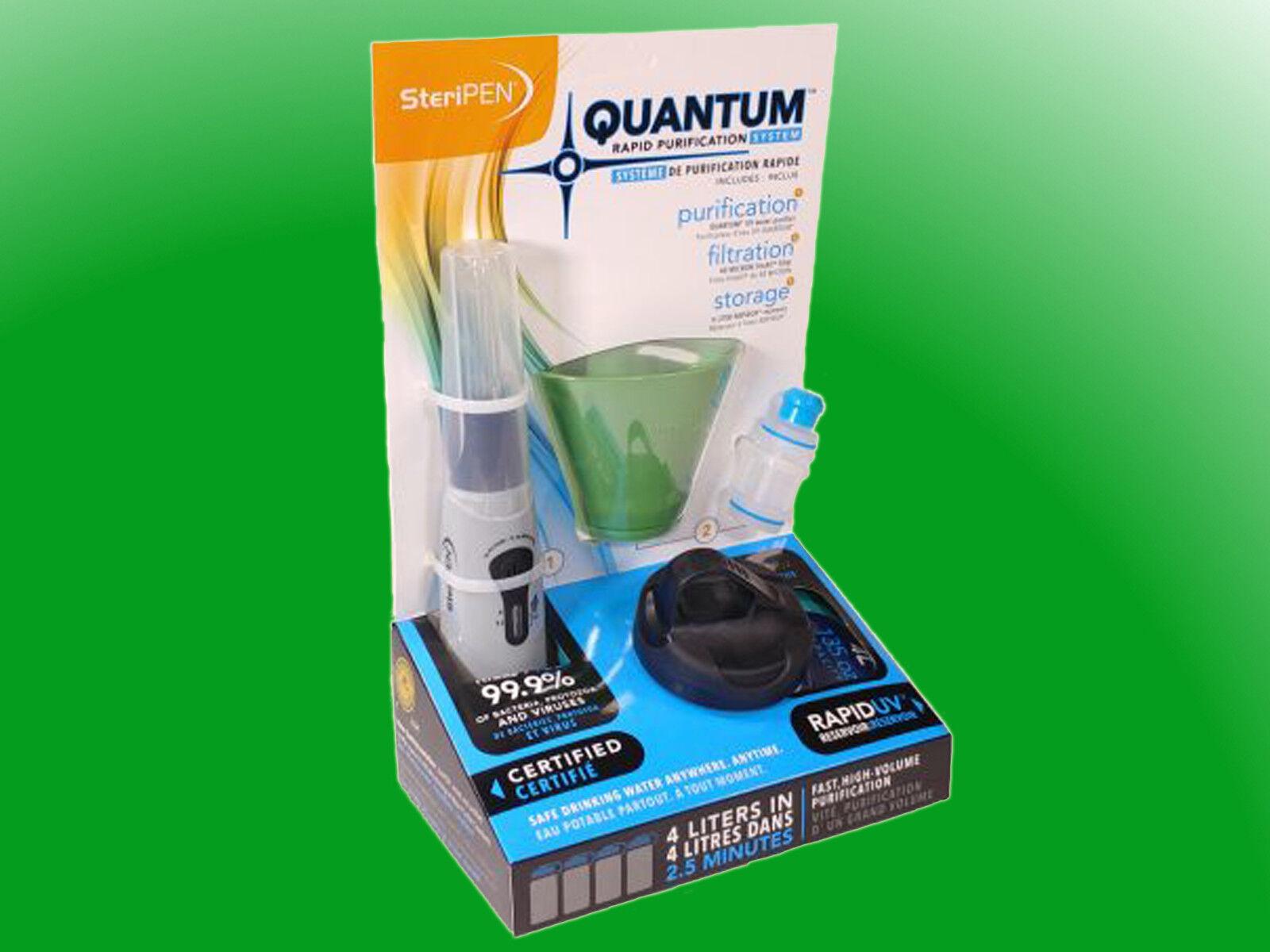 Steripen quantum Rapid  UV purificación del agua sistema filtro potabilizadoras sistema  grandes precios de descuento