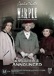 1 of 1 - Miss Marple - A Murder Is Announced (DVD, 2005) PAL R4 🇦🇺Brand New Sealed