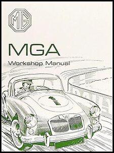 mga repair shop manual 1955 1956 1957 1958 1959 1960 1961 1962 inc rh ebay co uk