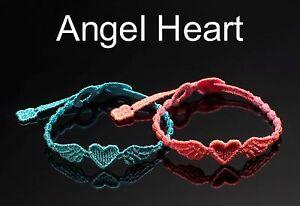 wholesale dealer ba0cf 51bf3 Dettagli su OMAGGIO Braccialetti Cruciani ANGEL HEART originale Made in  Italy 3x2(1 omaggio)