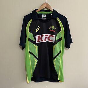 Australia Cricket ASICS 2016/2017 T20 Jersey Polo Shirt Mens Large