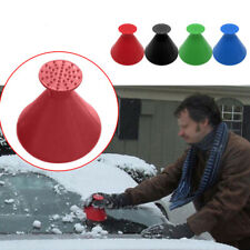 Scratch-Free Heavy-Duty Frost and Snow Removal Tool for Car Windshield and Window Oziral Ice Scraper for Car Windshield Ice Snow Frost Scraper with Non-slip Foam Handle 2 Pack