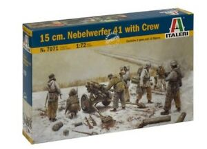 Italeri-1-72-15cm-Nebelwerfer-41-CON-PLANTILLA-7071