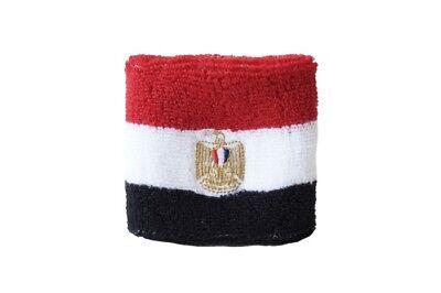 Schweißband Fahne Flagge Preußen 7x8cm Armband für Sport
