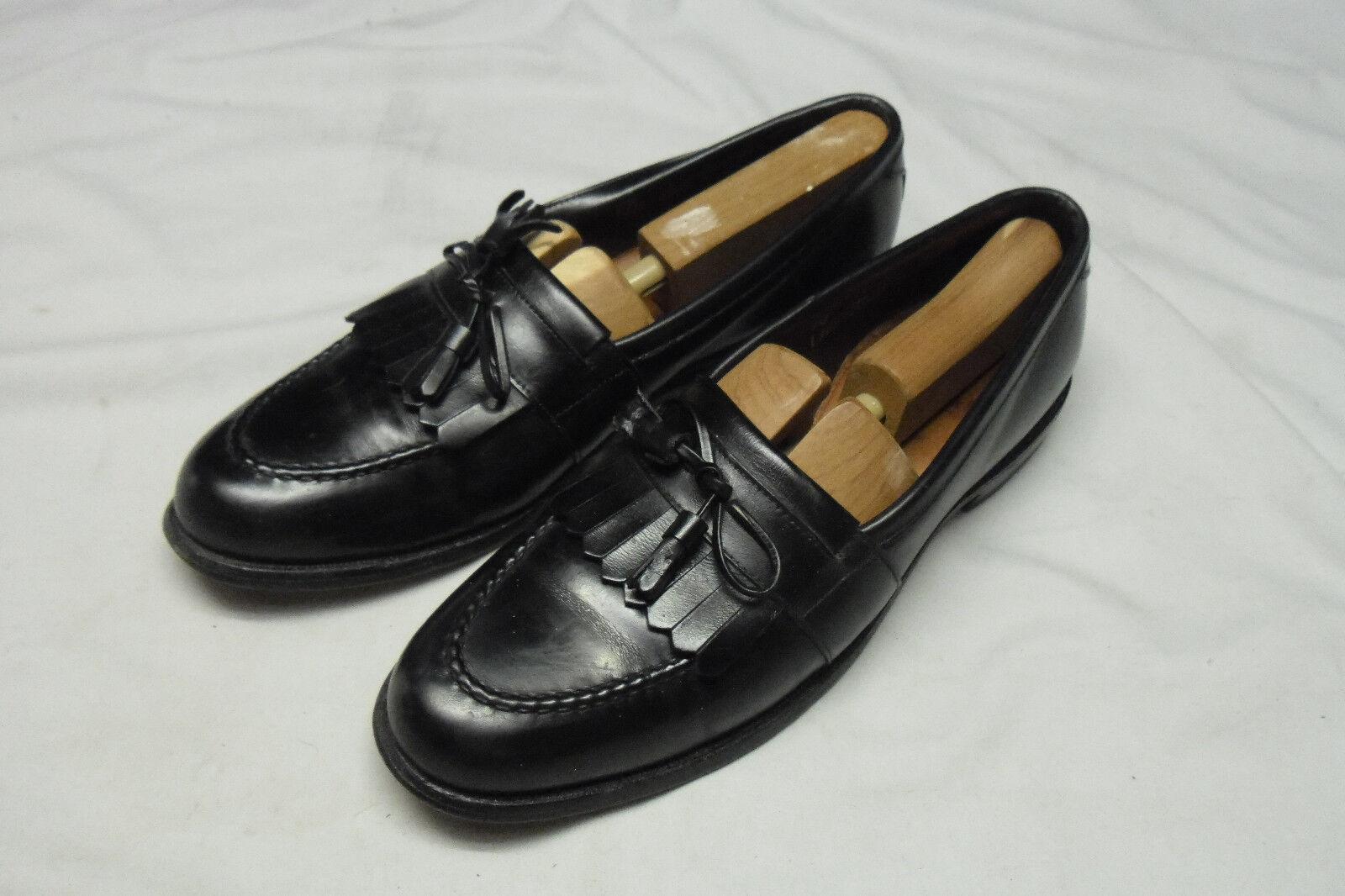 distribuzione globale Allen Edmonds nero All-Leather Chelsea Tassle Tassle Tassle Loafers 10AA w Forms  migliore qualità