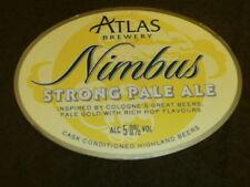BEER PUMP CLIP - ATLAS NIMBUS STRONG PALE ALE
