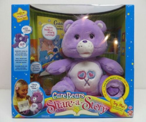 Details about  /Care Bears Plush Talking Friend Bear Electronic Talks Working 10 inch Plush 2004
