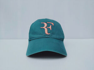 RF Roger Federer NIKE LEGACY9I DRI-FIT Green Cap Hat Tennis