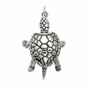 Large-Sterling-Silver-Movable-Box-Turtle-Pendant-SPD70