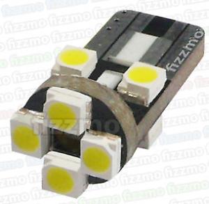2x 8 SMD LED AMBER ORANGE INDICATOR SIGNAL TURNING SIDE LIGHT BULB T10 W5W 501