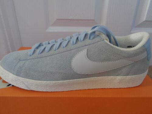 Nike Blazer Baja Zapatillas Zapatos De Gamuza Vntg 517371 409 UK 9 EU 44 nos 11.5 Nuevo   Caja