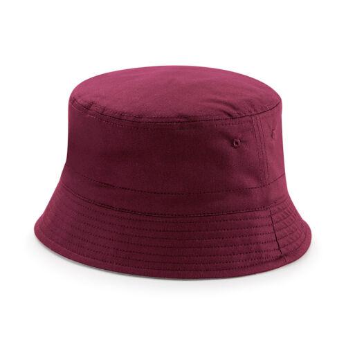 Chino Cotton Bucket Sun Hat Reversible Summer Hat Mens or Ladies