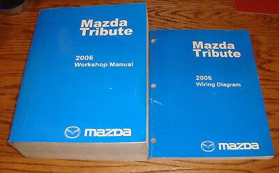 Original 2006 Mazda Tribute Shop Service Manual + Wiring ...