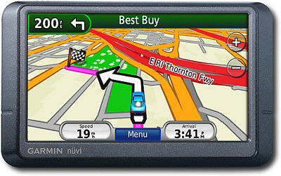 Garmin Nuvi 255WT Automotive Mountable GPS Navigation Free Lifetime Traffic