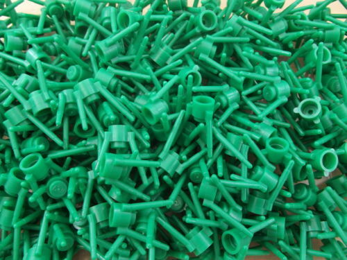 50x Lego Green plant Flower Stems Grass lot for Garden 3741