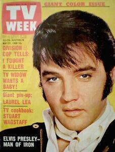 TV-Guide-1969-Elvis-Presley-International-TV-Week-South-Australia-VG-EX-COA-Rare