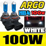 LEXUS RX HB4 100W SUPER WHITE XENON HID HIGH LOW LIGHT BULBS SET
