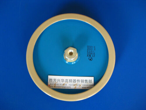 CCG81-8 2000PF 21KV 125KVA High Frequency Voltage Ceramic Capacitor #J621 lx