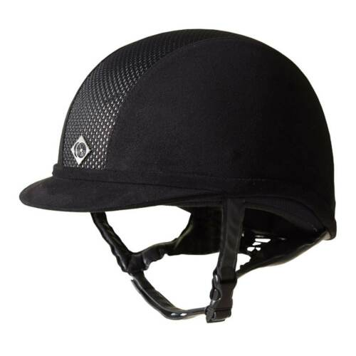 Charles Owen AYR8 Riding Hat Adults Ventilation Slots Equestrian Accessories