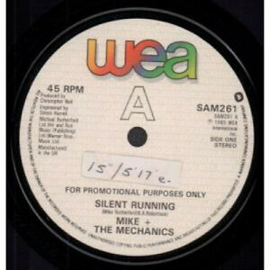 MIKE-AND-THE-MECHANICS-Silent-Running-7-034-VINYL-UK-Wea-Double-A-Side-Promo