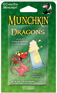 Munchkin-Dragons-Expansion-Card-Game-Adds-15-Cards-Steve-Jackson-Booster-SJG4235