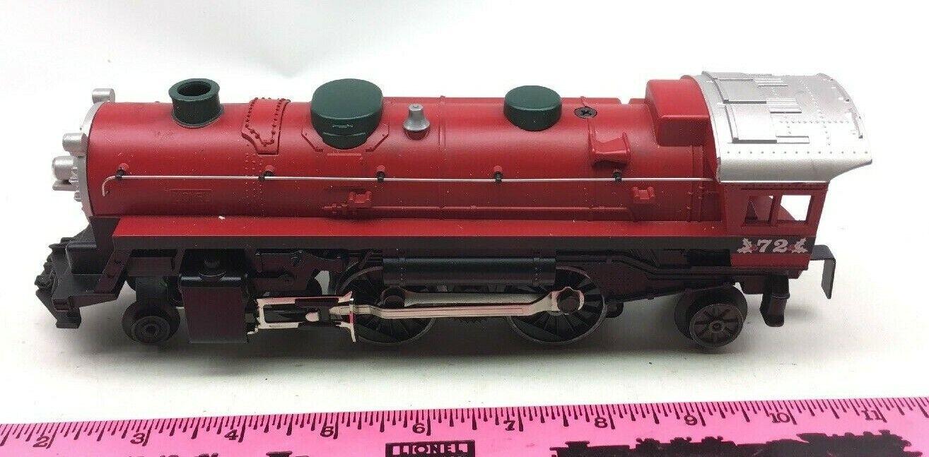 Lionel  72 North Pole Central Christmas steam locomotive