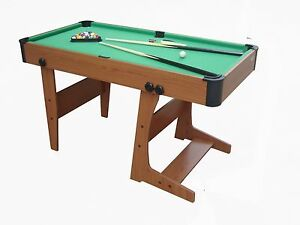 Image Is Loading Folding Pool Table Pool Game Pool Table With
