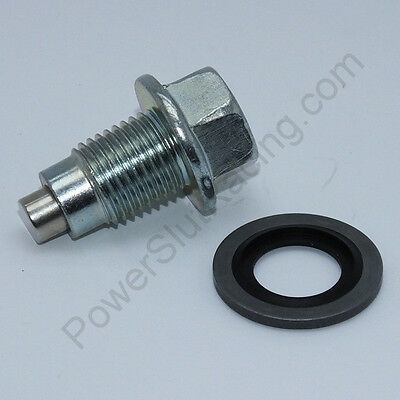 Magnetic Drain Plug Oil Sump - M12 x 1.25 - 12mm x 1.25 w/ Dog Point (PSR0101-1)