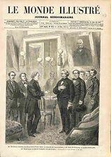 Elihu B. Washburne Minister USA Oscar du Motier de La Fayette France Paris 1874