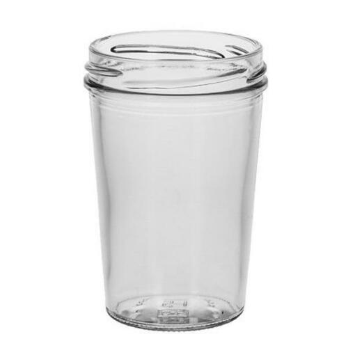 1 leeres glas einmachglas marmeladenglas mit wei em schraubverschluss 150 ml ebay. Black Bedroom Furniture Sets. Home Design Ideas