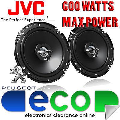 Peugeot 206 1998-2014 JVC 16cm 6.5 Inch 600 Watts 2 Way Front Door Car Speakers