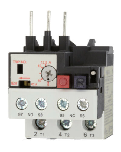 TECO RHU-10A1/0.25~0.4A Thermal Overload Relay (Phase Failure Protection)