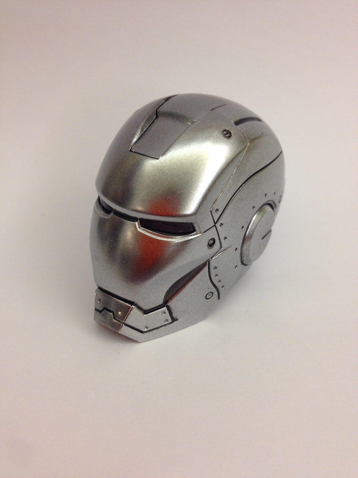 Hot Toys Iron Man MARK II 2 Armor Unleashed Figure 1 6 HEAD SCULPT for light up