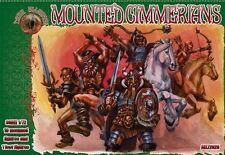 Dark Alliance 1/72 Plastic Fantasy Mounted Cimmerians Figures Set 72029 NEW!
