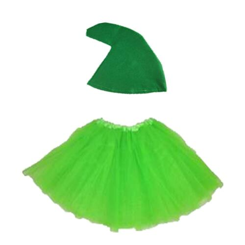 Tutu and Hat Gnome costume Set 7 Dwarves Hen do Party Cartoon Fairytale