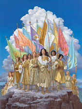 """""""Arise and Shine Forth"""" James Christensen Open Edition Giclee Canvas"""