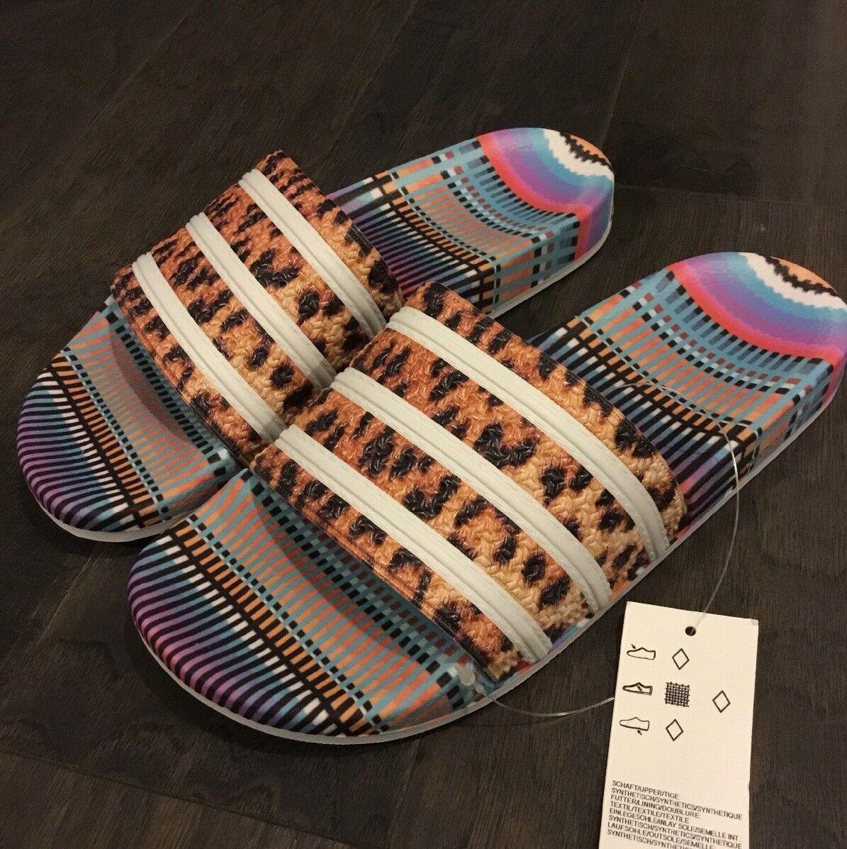 Adidas Adilette Women's Slides shoes CM8223 Shower Beach Pool Sandals New sz 10