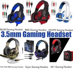 Gaming-Headset-Stereo-Surround-Headphone-3-5mm-Wired-Mic-For-PS4-Laptop-Xbox-mc
