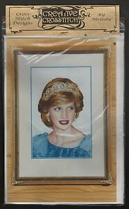 PRINCESS-DIANA-CROSS-STITCH-KIT-FAMOUS-PATTERN-MATERIAL-THREAD-INSTRUCTIONS