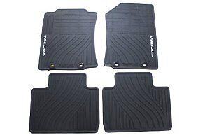 genuine toyota 2012 2014 tacoma all weather floor mats oem pt908 35121 20 ebay. Black Bedroom Furniture Sets. Home Design Ideas