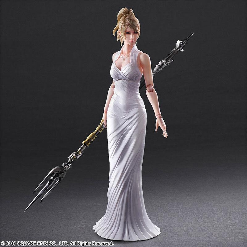 Final Fantasy XV Lunafreya Nox Fleuret Play Arts Kai Official Merchandise Sealed