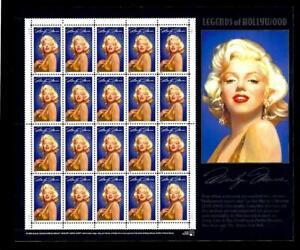 1-WONDER-039-S-1995-MNH-SOUVENIR-SHEET-W-32-MARILYN-MONROE-FV-6-40-S710