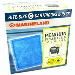 Marineland 6 pk Penguin Rite-Size C Filter Cartridge | eBay