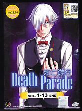 *NEW* DEATH PARADE *13 EPISODES*ENGLISH SUBS*ANIME DVD*US SELLER*FREE SHIPPING!*